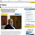 Le Monde, 17 December 2015, Page 13