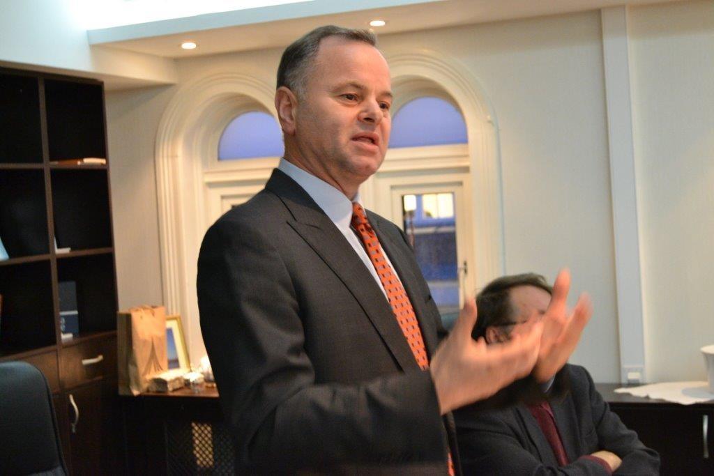 Stortingspresident Olemic Thommessen - Mangfoldhuset Eid Id feiring - Oslo-samtale